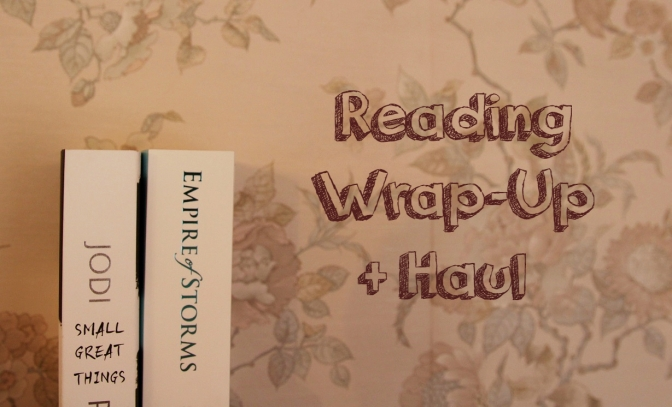 Reading Wrap-Up + Haul | September